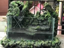 Título do anúncio: Aquaterrario para tartarugas