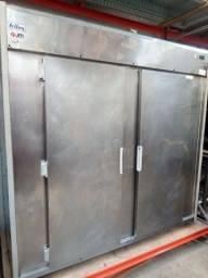 Mini camara 2 portas refrigerada