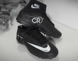 Chuteira Nike CR7 Preta (Frete Gratis)