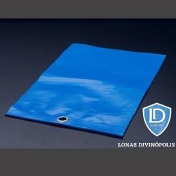 Lona Leve Multiuso Nova de Polietileno 8 x 4 330 Micras Azul