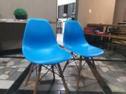 Cadeira azul eames Eiffel
