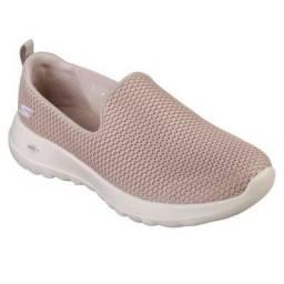 Tênis Skechers Go Walk 5 Feminino 15901 TPE (Bege)