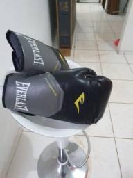 Luva de Boxe/Muy Thai Everlast Pro Style 12 Preto
