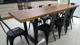 Mesas rústicas de fabrica