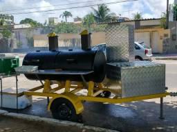 Mega churrasqueira Pits smok