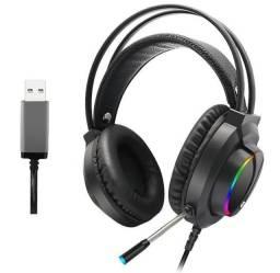 Título do anúncio: Headset USB com led