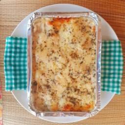 Deliciosa Lasanha Artesanal Congelada de Calabresa