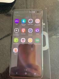 Samsung s10+\128 giga completo nota fiscal (2150$)Aceito cartão de crédito