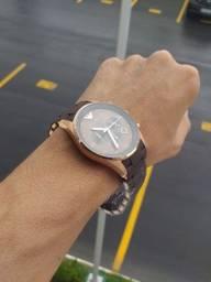 Relógio Unissex Empório Armani todo funcional Luxuoso