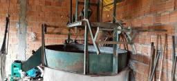Máquina de fazer farinha