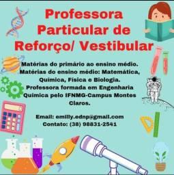 Título do anúncio: Professora de Reforço / Vestibular