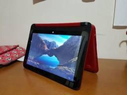 Notebook HP x360 vermelho