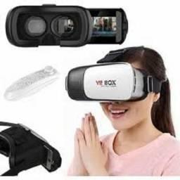 Óculos de realidade virtual 3d novo na caixa