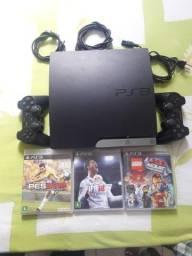 PlayStation 3 jogos pes2018 Fifa 2018 lego 2 controles