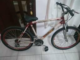 Bicicleta+suporte de transporte