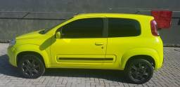 Fiat Uno Vivace Celebration Amarelo Completo É pra vender - 2012