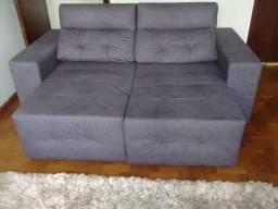 Lindo e comfortavel amplo sofa reclinavel e cama box tamanho Queen