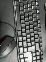 Teclado USB Com Mouse