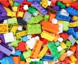 Lego com 1000 Peças, Construa Casa, Bob Esponja, Super Mário e Mais, Novo, Tipo Lego