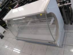 Balcão refrigerado 1.40 cm novo gelopar com evaporador