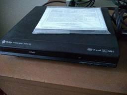 Dvd player Tectoy, compacto