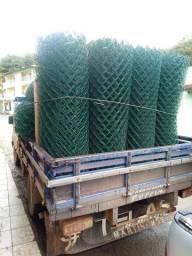 Alambrado em PVC Verde