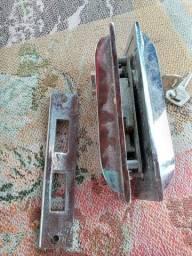 Fechadura para porta de vidro