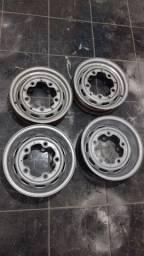 Rodas 5 furos aro 15 pro Fusca fusquinha Fuscão