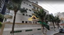 Apartamento com 1 dormitório para alugar, 55 m² por R$ 1.100/mês - Tupi - Praia Grande/SP