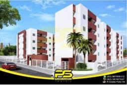 Apartamento com 2 dormitórios para alugar, 56 m² por R$ 1.200,00/mês - Água Fria - João Pe