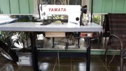 Máquina de costura industrial reta - marca Yamata
