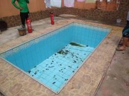 Desentupidora/// desentupimento  de piscina  pias,ralos,calhas, e outros