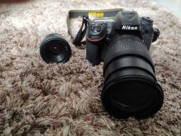Câmera fotográfica Nikon D7100 + lentes