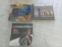 3 CDS RAROS ORIGINAIS DE CHARLIE BROWN JR