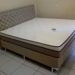 ;; Promoção Cama Box+Colchão Ilheus Queen Size 158x198