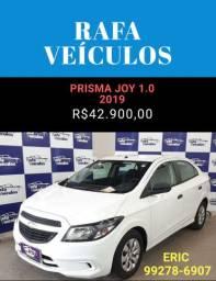 Prisma 1.0 2019 JOY 2019 com R$ 1.000,00 de entrada - Eric Rafa Veículos - ehhg9