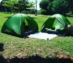 Aluguel de barracas para acampar