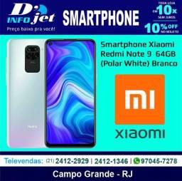 Smartphone Xiaomi Redmi Note 9 Dual Chip 64GB (Polar White) Branco - 210193