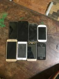 Lote de celular para retirada de peças