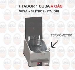Fritador a gas com termometro (10x sem juros)