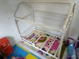 Cama casinha com colchão