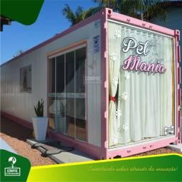 Petshop em Container 30m² - a partir de R$ 29.900,00