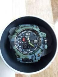 Relógio G shock militar, cor clara e cor escura! ENTREGA grátis