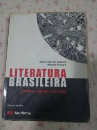 Livro Literatura brasileira tempos, leitores e leituras Maria Luiza Abaurre