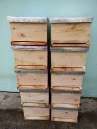 Caixas de abelhas novas
