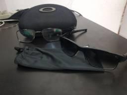 Armação c 2 lentes oakley original