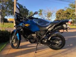 Título do anúncio: Yamaha XT 660Z Ténéré 2011/2012, azul, moto toda revisada, só pegar e rodar.