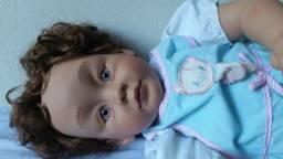 Boneca bebe Laura rara Pat secrist 1991 56cm