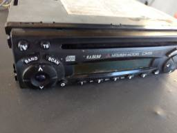Rádio CD player Pajero tr 4 c/ defeito