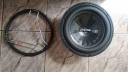 Alto falante Bravox endurecer 12 polegadas 4+4 ohms bobina dupla 650rms